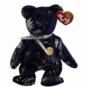 "Ty Beanie Astra (BBOM) Ty store Bear New MWMTs  8"" 20cm MWMT Rare + Free Ty Card"