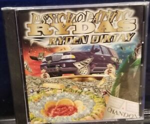 Psychopathic Rydas - Ryden Dirty CD insane clown posse twiztid dark lotus blaze