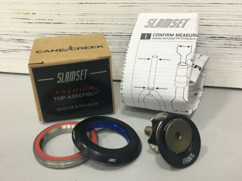 IS42//28.6//H4.6mm #BAA1109K Cane Creek SlamSet Headset Top Assembly