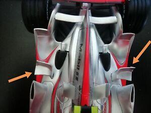 Échelle 1:18 Remplacement Côté Pod ailes McLaren MP4-22/3 Lewis Hamilton pièce de rechange