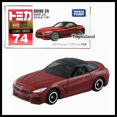 TOMICA #74 BMW Z4 1//61 SCALE NEW IN BOX