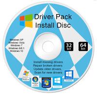 Windows drivers dvd disk  32 & 64 Bit All Versions 7 | 8 l Vista | XP 10