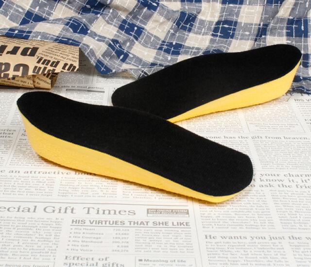 3 cm Shoes Insole Air Cushion Half Heel Insert Increase Taller Height Men Women
