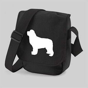 Newfoundland-Dog-Bag-Silhouette-Shoulder-Bags-Newfie-Handbag-Birthday-Gift