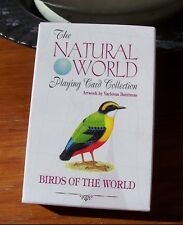 Birds of the Natural World Playing Cards