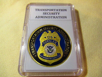 CHALLENGE COIN EOD TRANSPORTATION ADMINISTRATION EXPLOSIVE SPECIALIST SECURITY