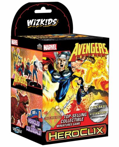 Avengers Infinity Booster Brick NEW Marvel HeroClix FACTORY SEALED 10