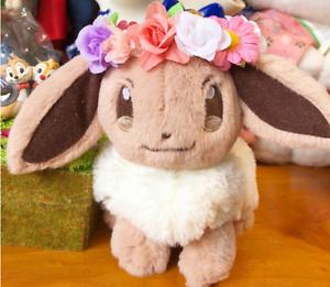 Pokemon-Center-Original-plush-Pikachu-amp-Eievui-039-s-Easter-Eevee-Toy