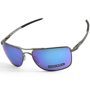 34eb454ce1 Oakley Gauge 8 L OO4124-06 Matte Grey Prizm Sapphire Polarised Men s ...