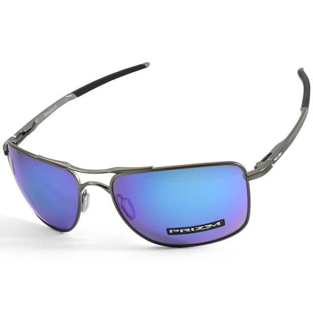9feefd1e6a3 Oakley Gauge 8 L OO4124-06 Matte Grey Prizm Sapphire Polarised Men s  Sunglasses