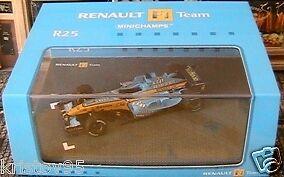 RENAULT formule F1 TEAM R25 TEAMCAR MINICHAMPS 1 43 new
