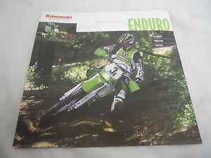 2002 Kawasaki Enduro Series Brochure KLX300R KDX220R KDX200