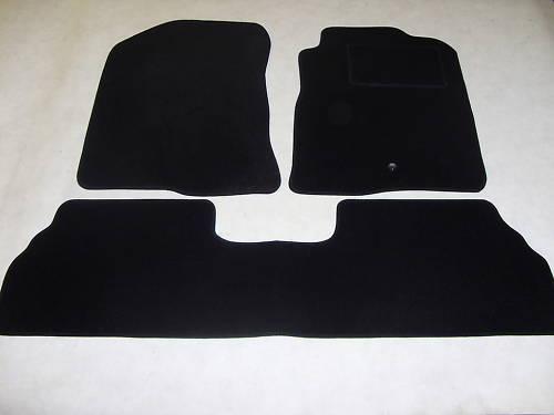 Toyota Corolla Verso 2004-09 Fully Tailored Car Floor Mat Set in Black