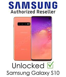 Samsung Galaxy S10 Pink 128GB New Sprint AT&T T-Mobile Verizon Factory Unlocked