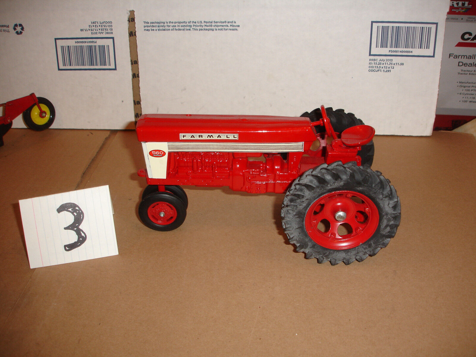 1 16 farmall 560 with 2 point hitch