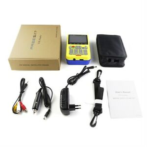 Freesat-3-5-Inch-LCD-FTA-Signal-Pointer-Digital-Satellite-Meter-V8-Finder-LOT-9R