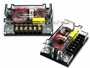 2-Audiopipe-Passive-2-Way-Car-Audio-Crossover-Two-Way-Speaker-and-Tweeter-300W