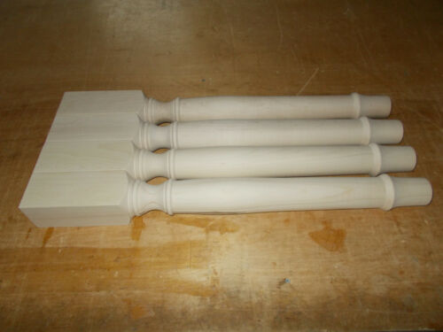 Maple wood table legs