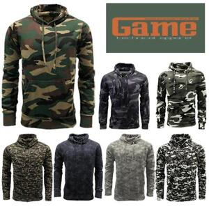 7fce6658f0229 Image is loading Game-Mens-Military-Camouflage-Hoody-Army-Camo-Pullover-