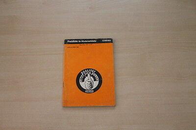 162929) Chemo - Preise & Extras - Prospekt 03/1984 Noch Nicht VulgäR