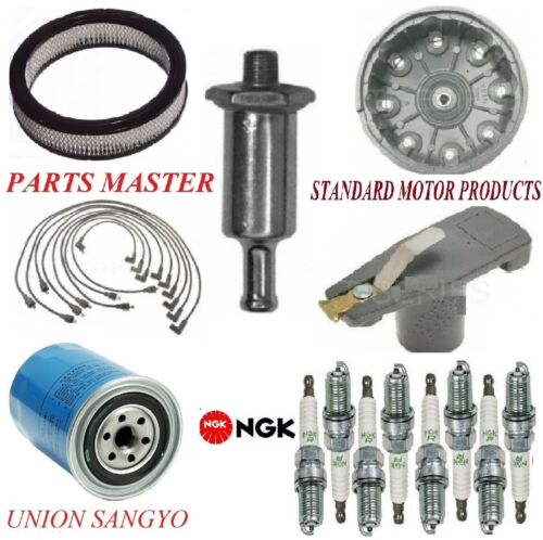 Tune Up Kit Filters Cap Spark Plugs Wire For FORD F-100 V8 5.0L; 2 Bbl 1975-1976
