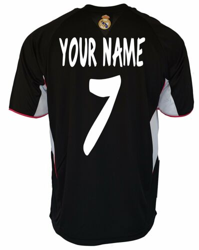 Real Madrid Soccer Jersey Add Any Name and Number Cristiano Ronaldo 7