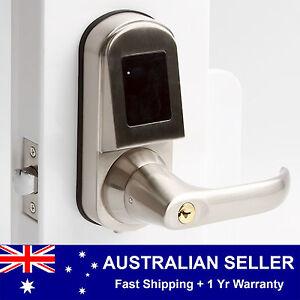 Image is loading DL390-NFC-Keyless-Electronic-Code-Door-Lock-Card-  sc 1 st  eBay & DL390 NFC Keyless Electronic Code Door Lock Card Fob Smartphone ...