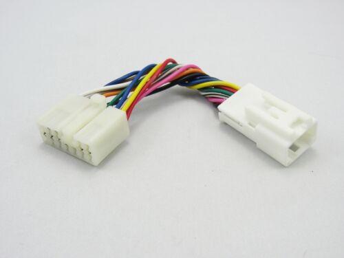 Adaptador cable Yatour YT-tysb 6+6 a 5+7 pin cambiador adecuado para Toyota