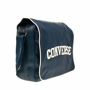 Image is loading Converse-Flap-Reporter-Heritage-PU-Bag-Navy 96123d849d8e0