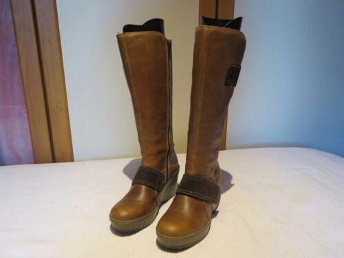 £ Boots 160 Lær 4 Fly Mux Eur Uk Morganne Rrp Wedge London Platform 37 Camel wHO0q4