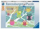 Ravensburger Colourful Night Owl Puzzle 500pc