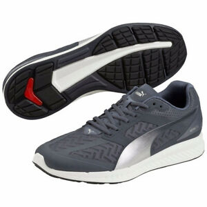 Details about Puma Ignite Power Cool Mens Running Shoes Grey Sports Trainers