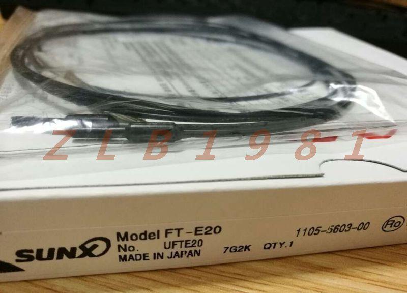 ONE NEW- SUNX fiber sensor FT-E20