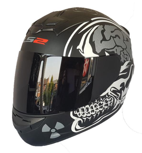 w// Visor /& White Top Headgear Helmet Motorcycle Open Face Minifig LEGO