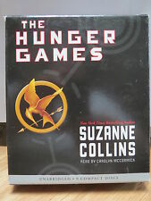 THE HUNGER GAMES by Suzanne Collins (2008, CD, Unabridged)