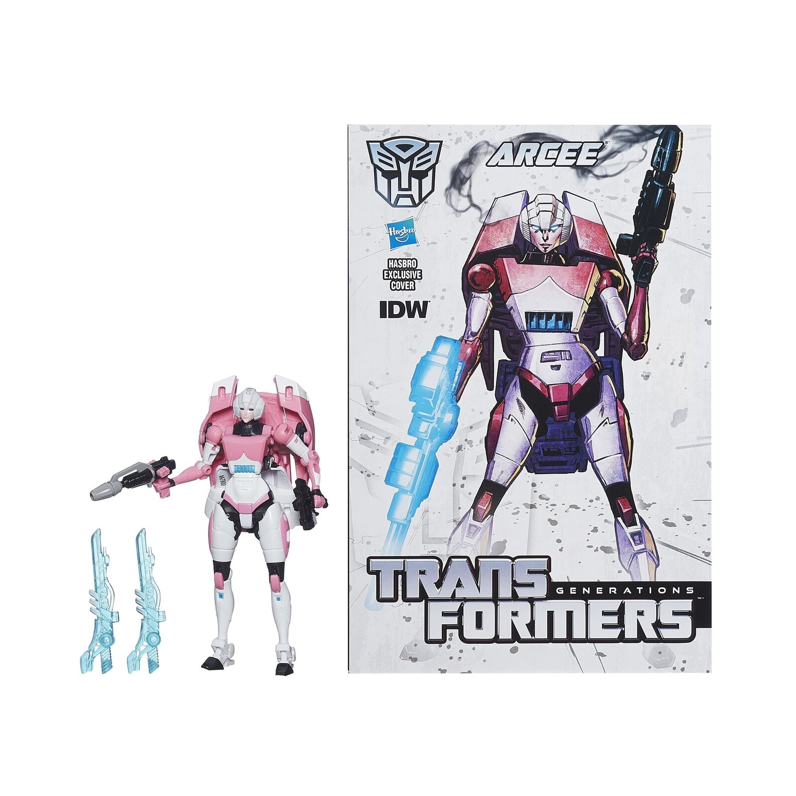 Transformers Generations Deluxe Class Arcee Figure