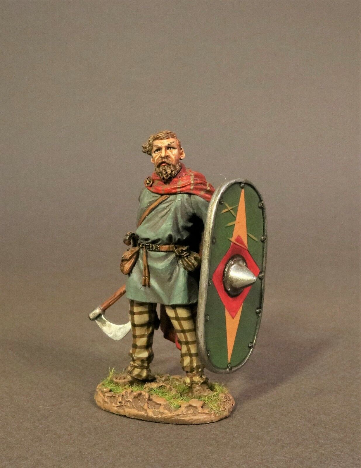 John Jenkins Romana Impero Età di Arthur Ag-01a Gallia Cherusci Guerriero Ascia