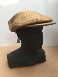 b37b40077cc6e Olney Bond   Big Bond Flat Cap Tweed Vintage Peaky Blinders Style ...