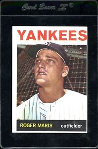 Roger-Maris-1964-Topps-Yankees-Card-225-EX