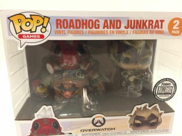 Funko Pop Blizzard RoadHOG Junkrat 2 PC Overwatch 2018 for sale online