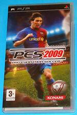 Pes 2009 - Pro Evolution Soccer - Sony PSP - PAL