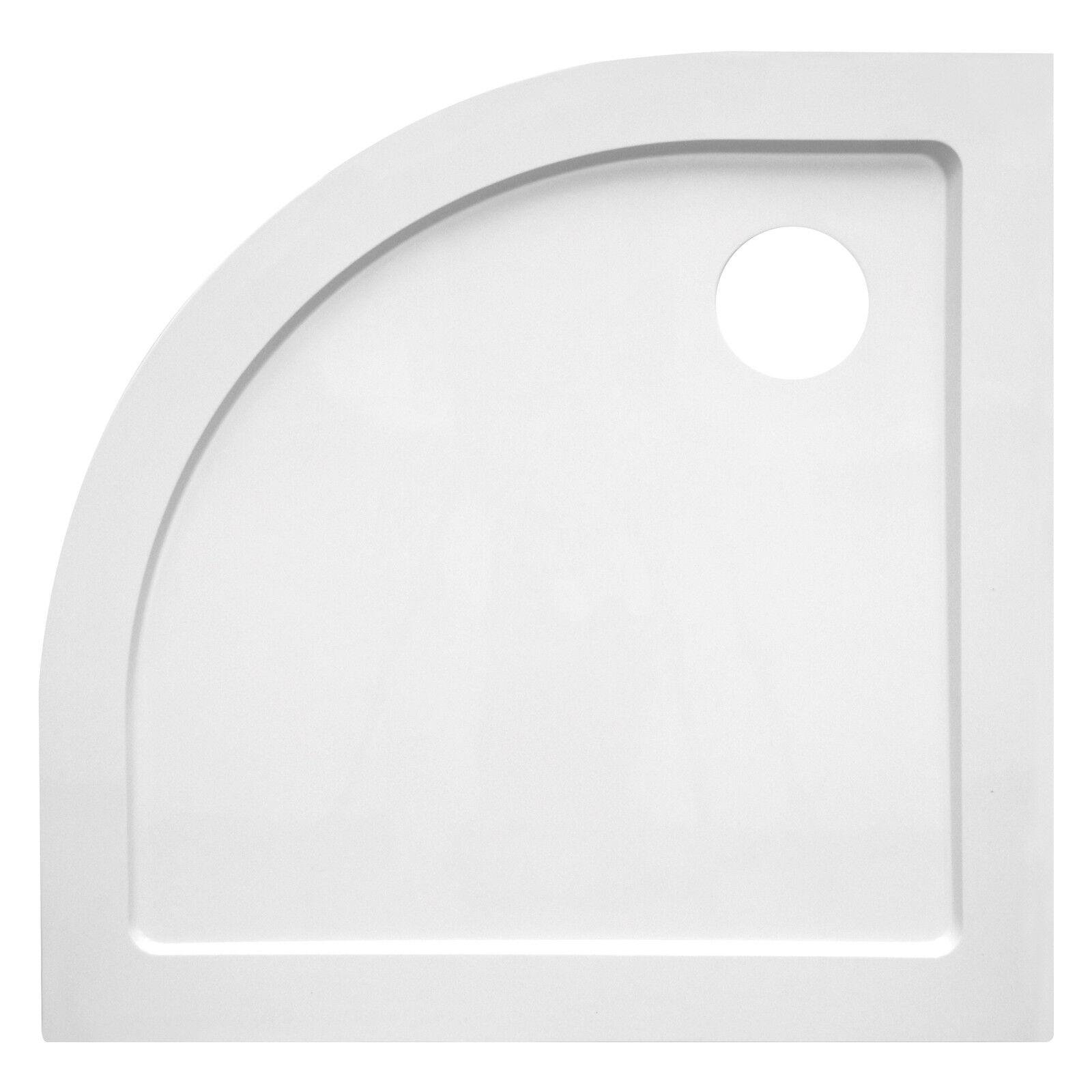 Piatto doccia 90 x 90 cm angolare h 3,5 cm ultraslim arredo bagno moderno