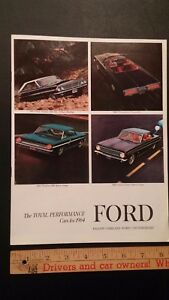 1964-FORD-Total-Performance-Dealer-Sales-Catalog-Very-Good-Condition-CDN