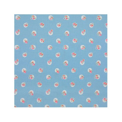 Cath Kidston Floral Spot 100/% Cotton Duck Fabric per metre