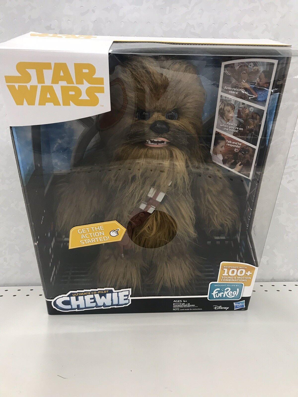 Star wars furreal ultimative co - pilot chewie interaktive 16  chewbacca spielzeug, neuer