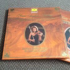 ANNE-SOPHIE MUTTER , KARAJAN VIOLIN CONCERTOS MOZART, BRUCH MENDELSSOHN 2 LP BOX