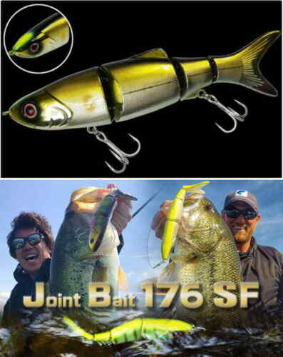 Choose Color Biovex Joint Bait 176SF Swimbait