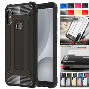 new arrival 6e946 acf03 For Xiaomi 6/6X Redmi Note5/5Plus Hybird Hard Bumper Cover ...