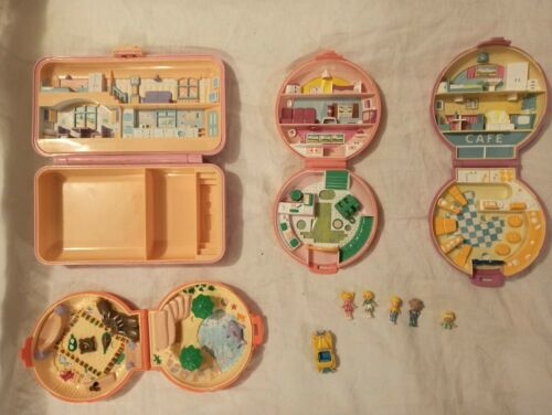 Polly pocket e personaggi vintage Bluerbird anni 1980 1990