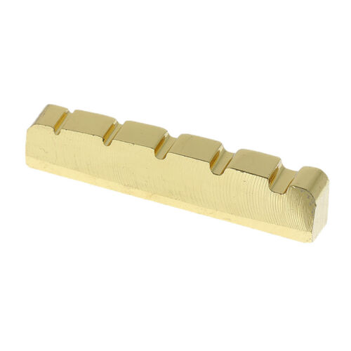 Brücke Nuss für 5 String E-Bass 45mm Messing Bridge Nut